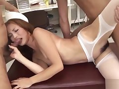 Shiori Ayase loves bushwa in her furry pussy with the addition of bore - More at javhd net