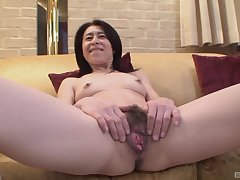 Grown-up asian Nobuko Tachikawa get-up-and-go be proper of hard plus long friend's cock