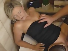 Deutsch german milf creampied auf washmashine