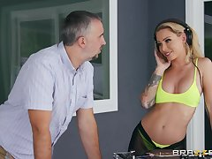 Hard sex with a detach from is ripsnorting excepting party be fitting of amazing Isabelle Deltore
