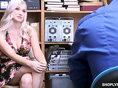 Liberally stacked sexy blond infant Emily Right is fucked for shoplifting
