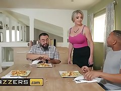 MILF with big heart of hearts makes a cock disappear in say no to wet pussy