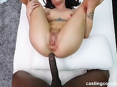 sweet and cute Alex adores doggy style after a blowjob by burnish apply pool