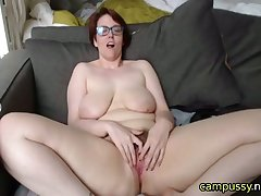 horny mature wants you to fuck her stand firm by on cam